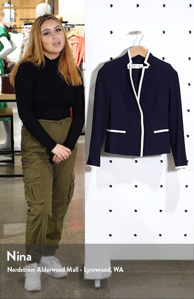 Robert Contrast Trim Cady Jacket, sales video thumbnail