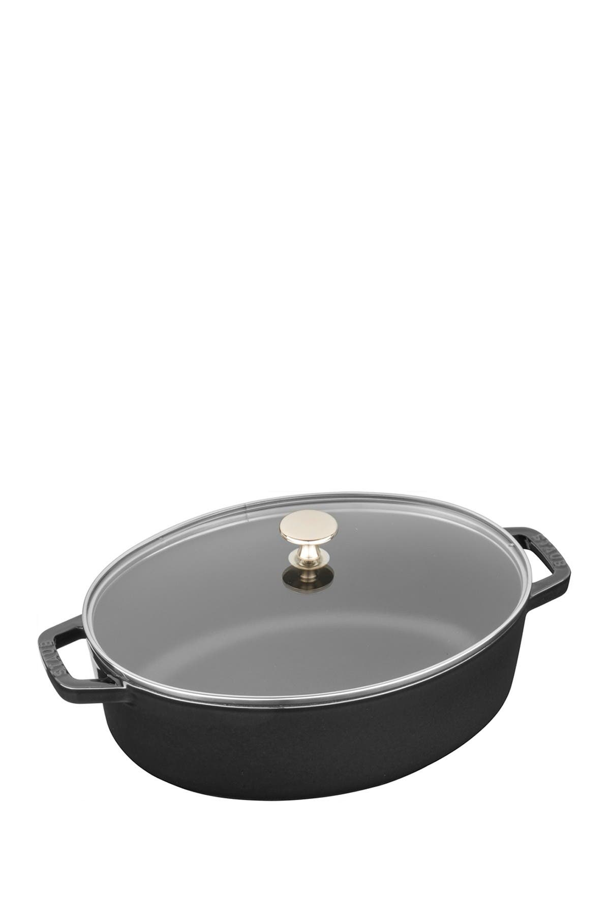 Image of Staub 4qt. Covered Oval Baking Dish