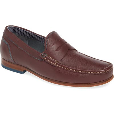 Ted Baker London Xaponl Penny Loafer, Red
