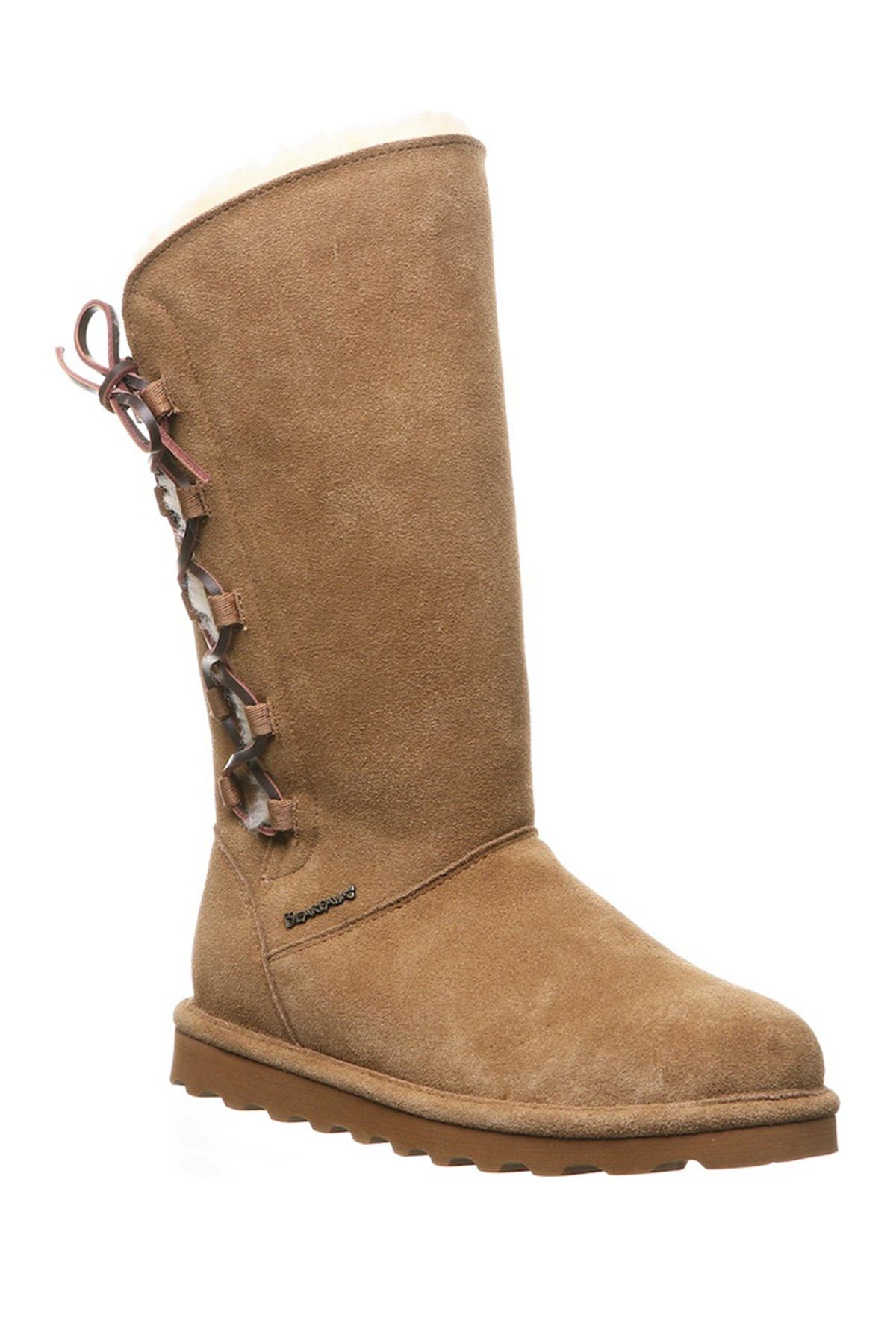 BEARPAW | Rita Faux Fur Lace-Up Boot