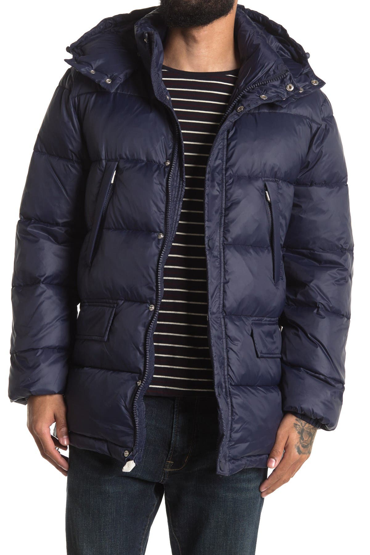 Image of Slate & Stone Long Puffer Coat
