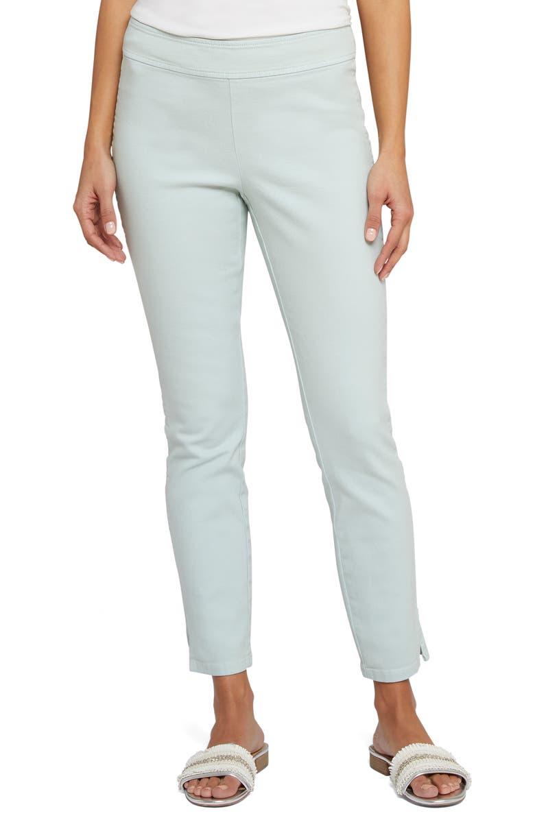 NIC+ZOE Bay Breeze Denim Pants, Main, color, BLUE LIGHT