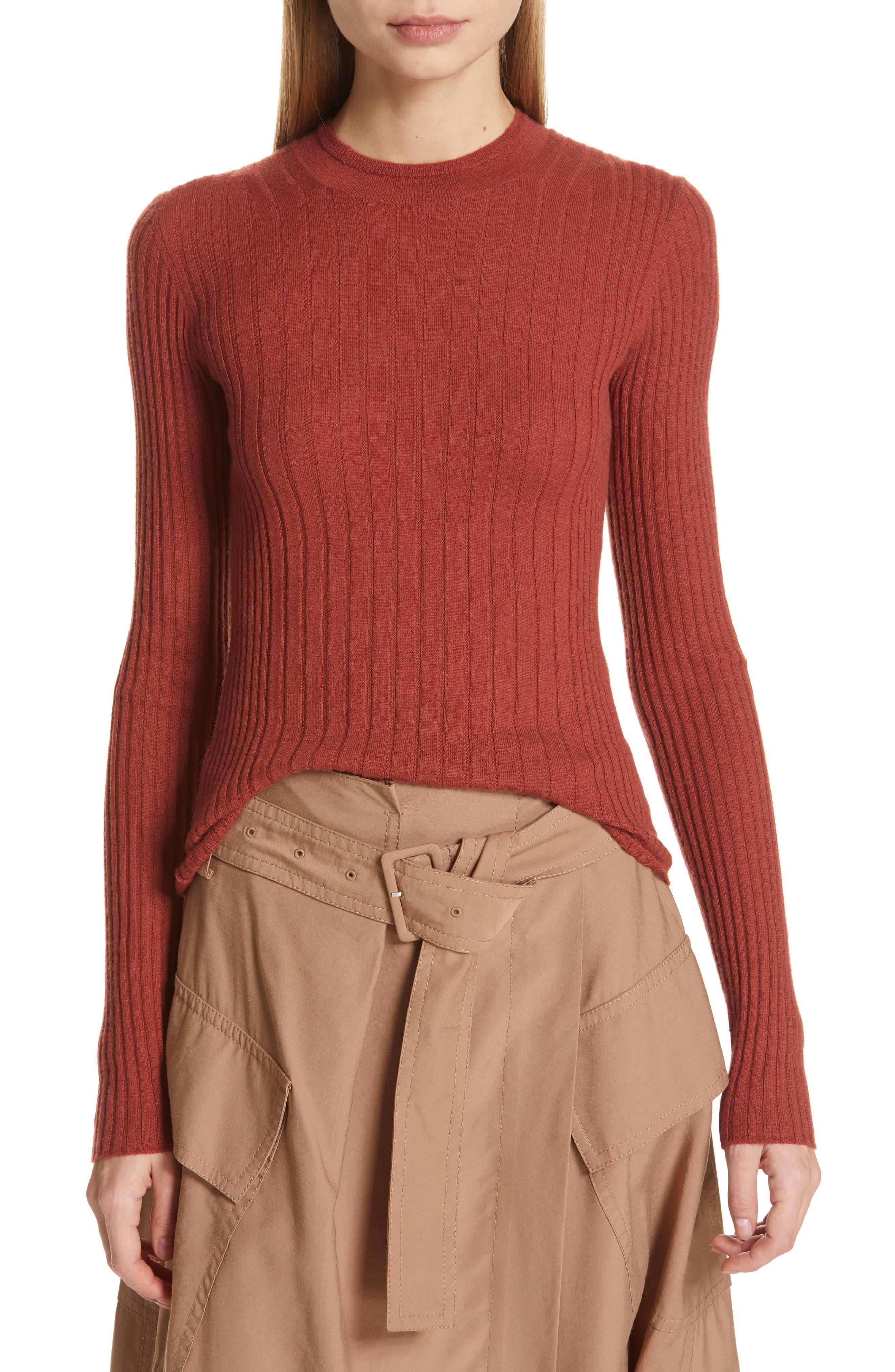 ,                             Mixed Rib Stitch Sweater,                             Main thumbnail 14, color,                             636