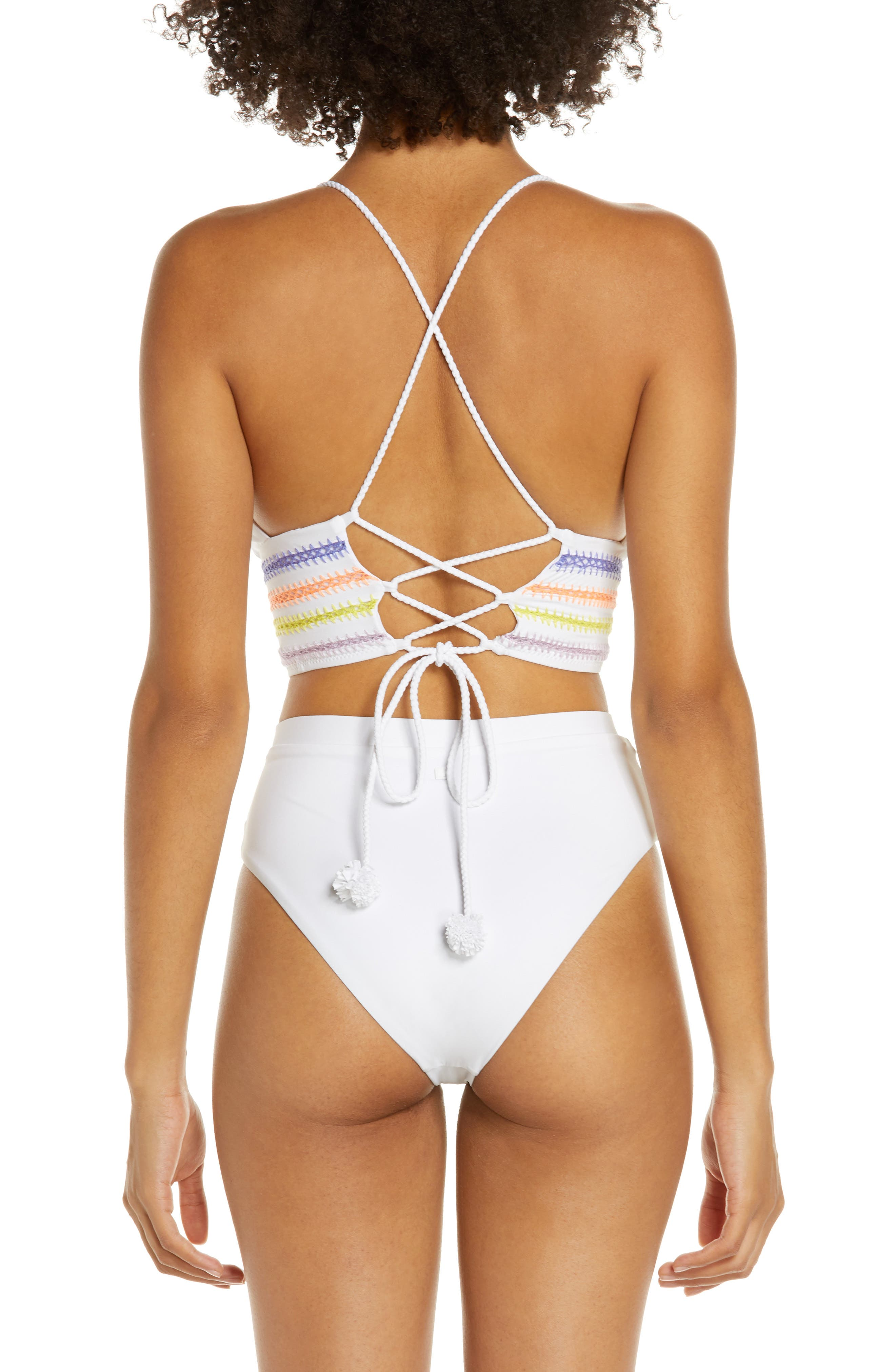 ,                             Kokomo Bikini Top,                             Alternate thumbnail 9, color,                             WHITE