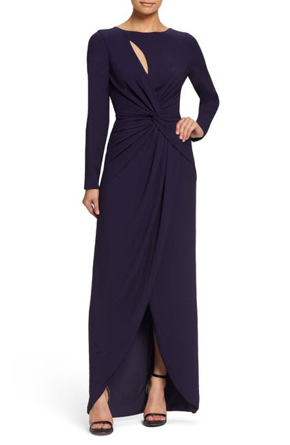 Image of Dress the Population Naomi Twisted Gown