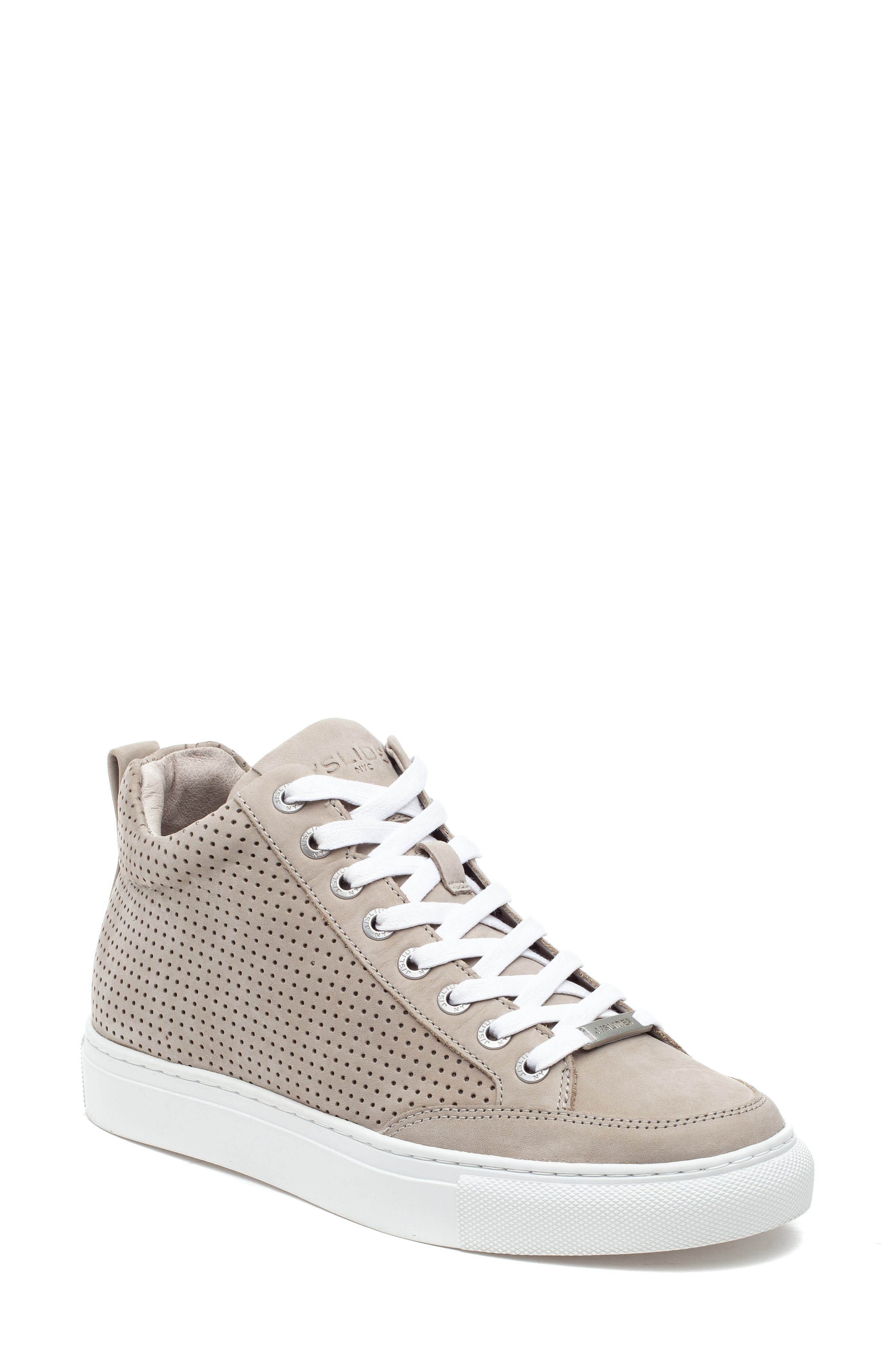 Ludlow Perforated High Top Sneaker
