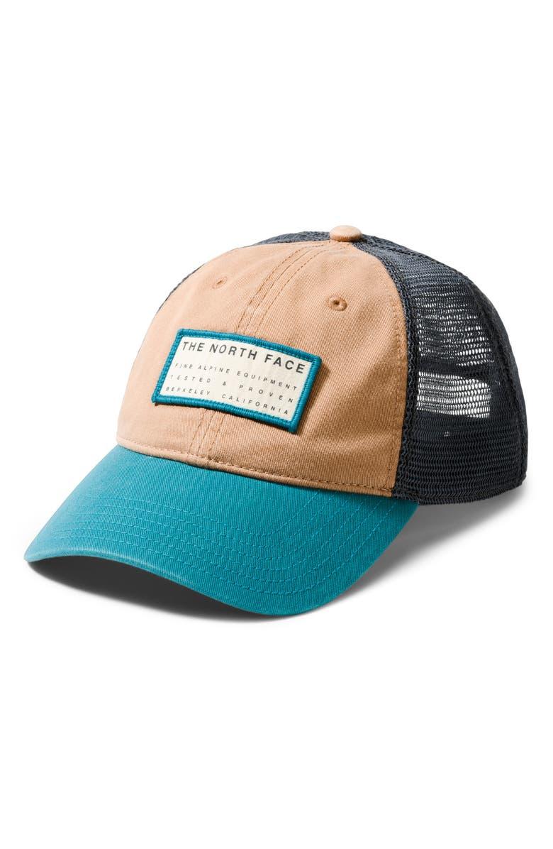 THE NORTH FACE Broken-In Trucker Hat, Main, color, 210