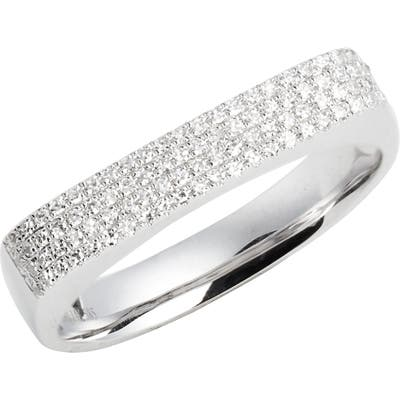 Ef Collection Jumbo Diamond Bar Ring