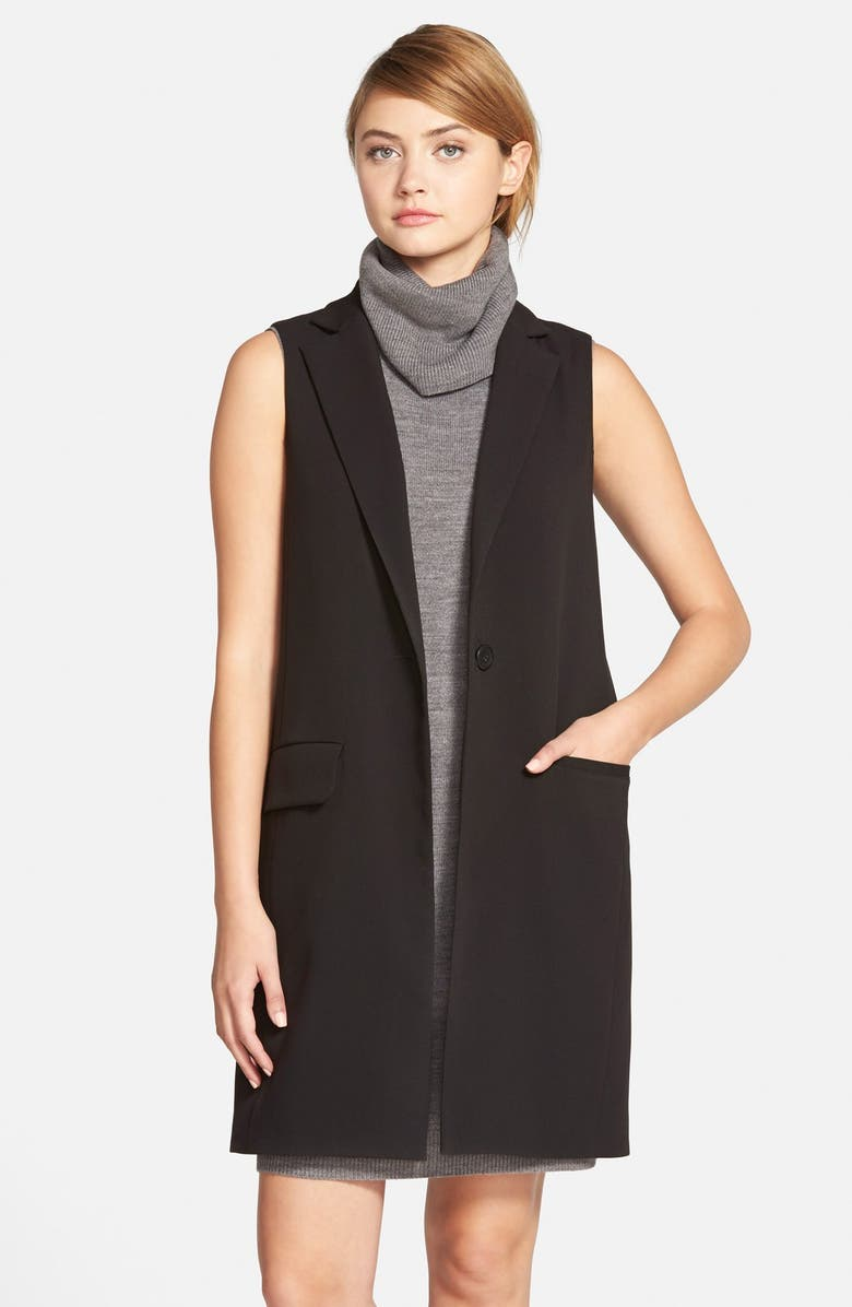 CUPCAKES AND CASHMERE 'Fairfax' Vest, Main, color, 001