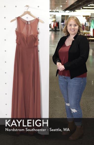 Elizabeth Chiffon Gown, sales video thumbnail