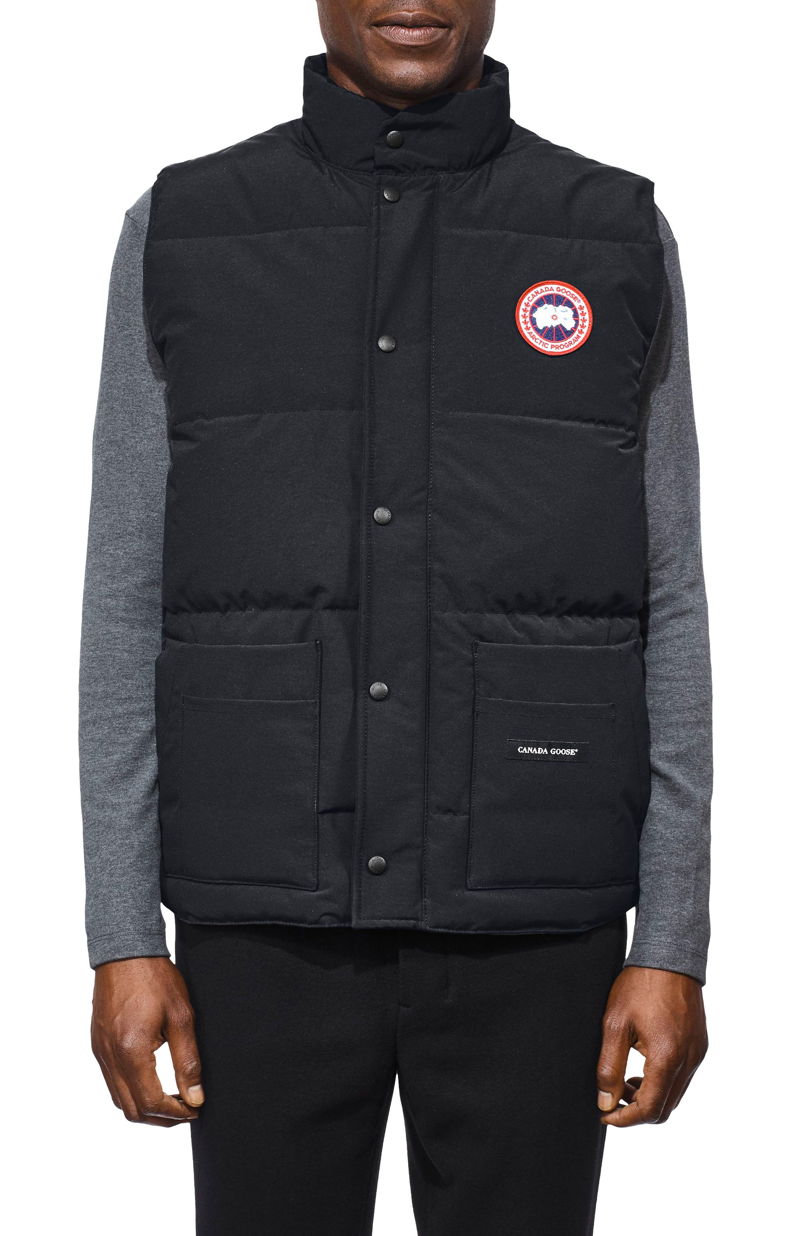 Canada Goose Freestyle Regular Fit Down Vest, Blue