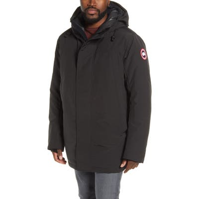 Canada Goose Sanford 625 Fill Power Down Hooded Parka, Black
