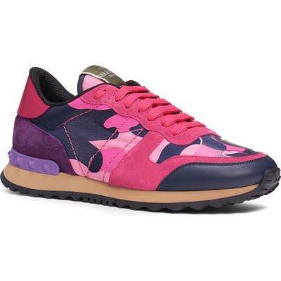 Valentino Garavani Rockrunner Sneaker - Pink