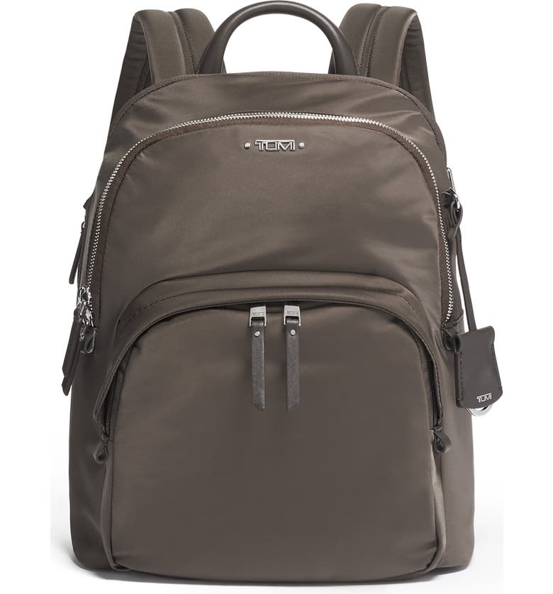 TUMI Voyageur - Dori Nylon Backpack, Main, color, MINK/SILVER