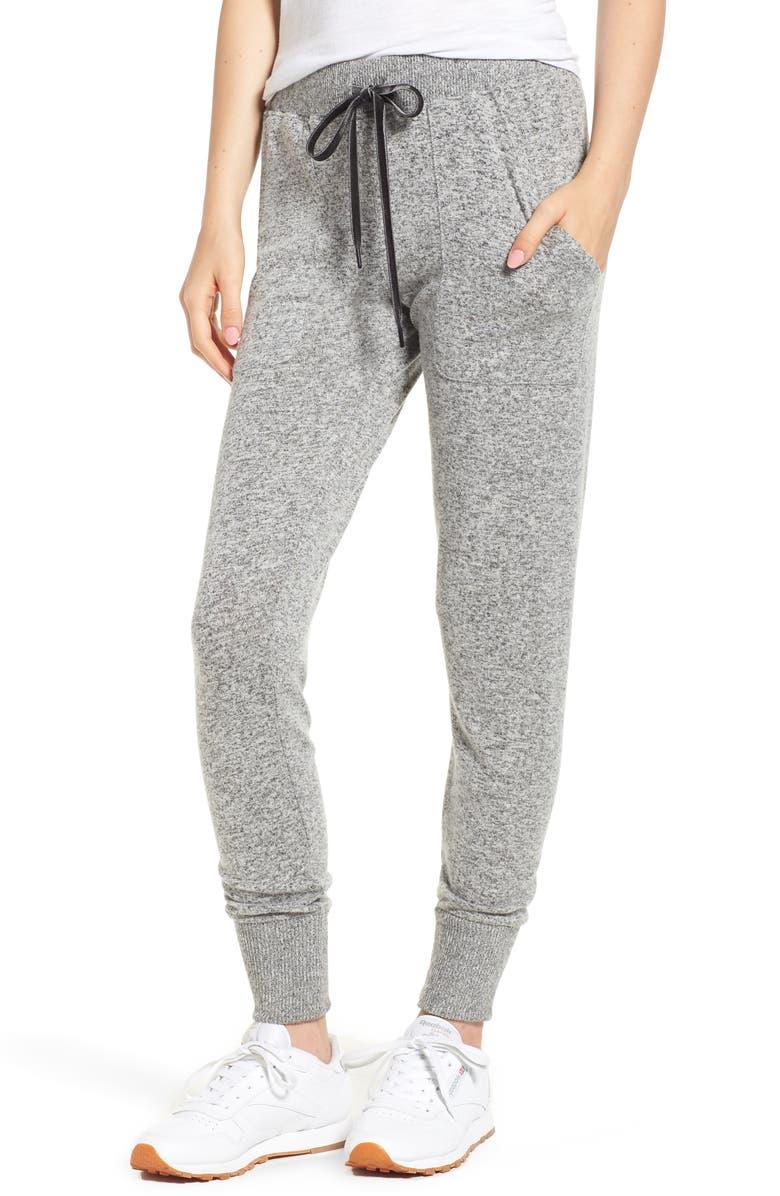 RAILS Devon Jogger Pants, Main, color, MELANGE GREY