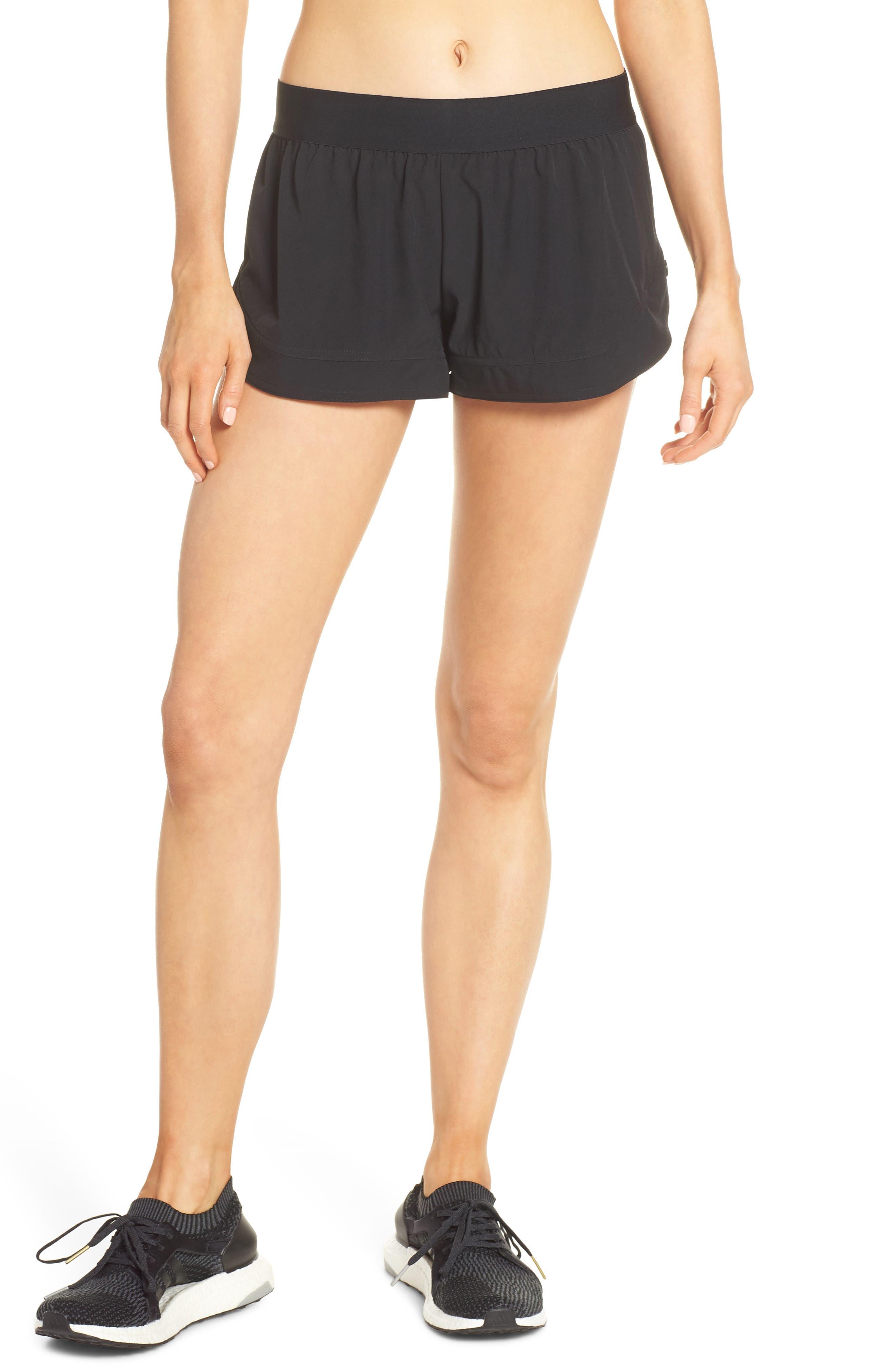Adidas By Stella Mccartney Essential Sweat Shorts, Black