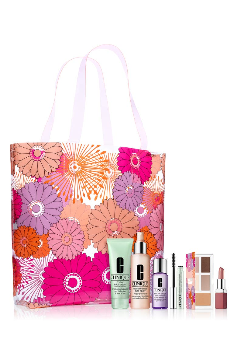 CLINIQUE Beauty in Bloom Summer Essentials Set, Main, color, 000