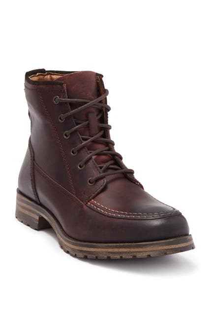 Image of Lucky Brand Garrison Moc Toe Leather Boot