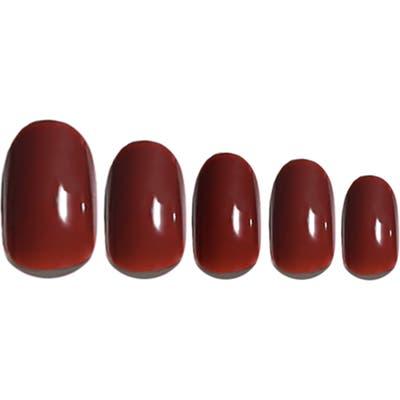 Static Nails Cherry Pop-On Reusable Manicure Set - Cherry Liquor
