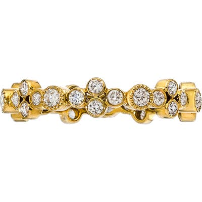 Sethi Couture 18K Gold & Diamond Cluster Ring