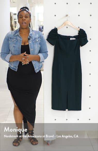 Square Neck Sheath Dress, sales video thumbnail