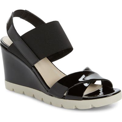 The Flexx Get Over It Wedge Sandal, Black