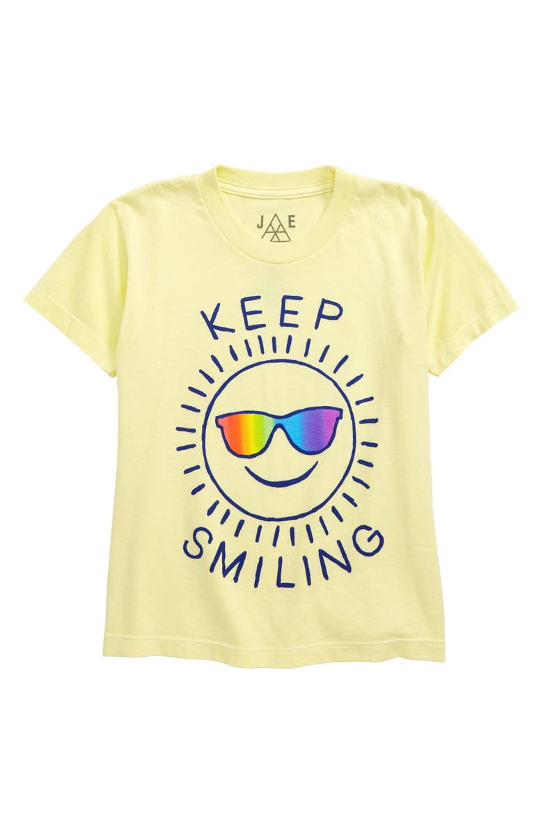 JEM Keep Smiling Graphic T-Shirt, Main, color, 709