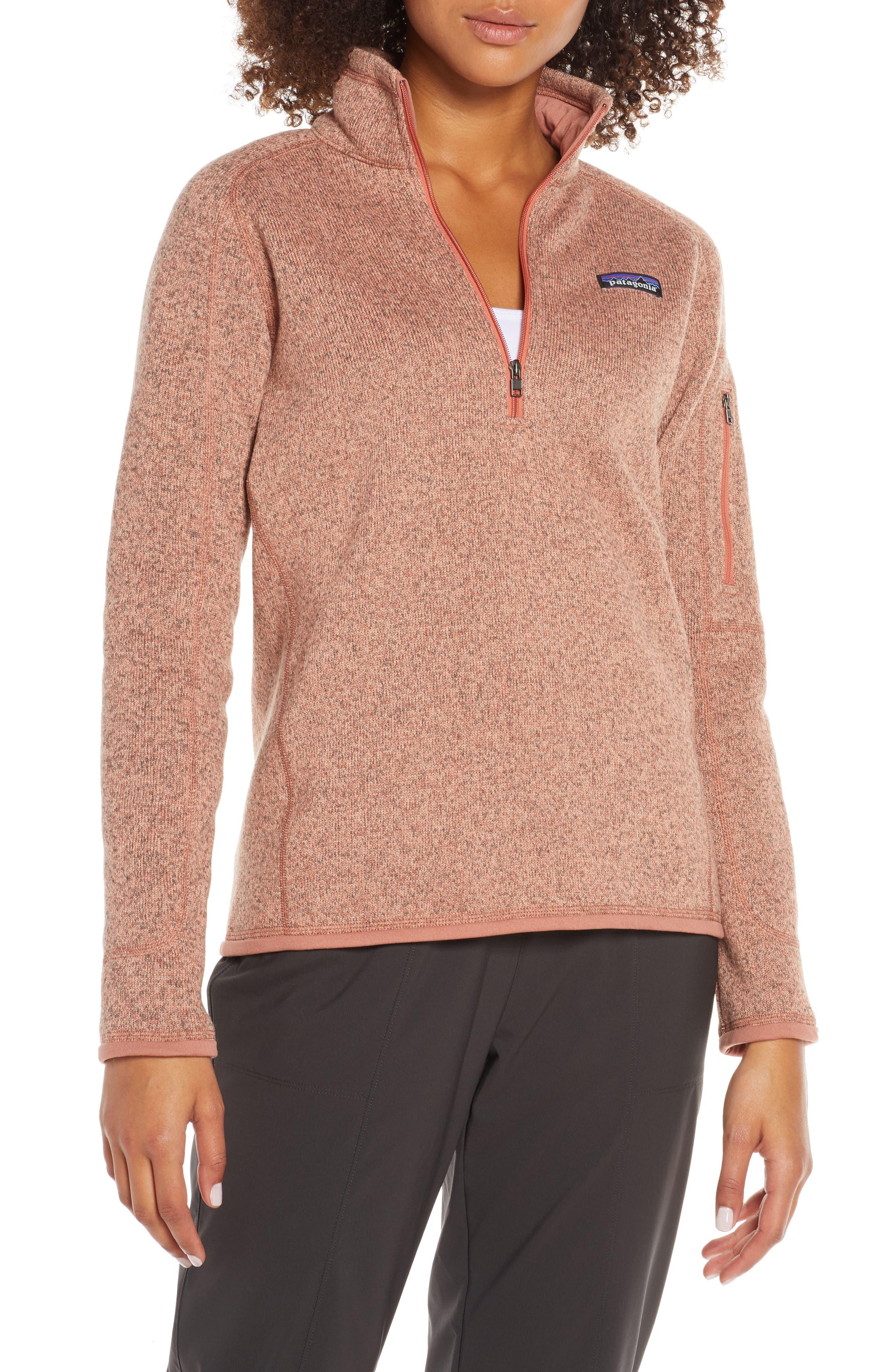 Patagonia Better Sweater Quarter-Zip Fleece Pullover