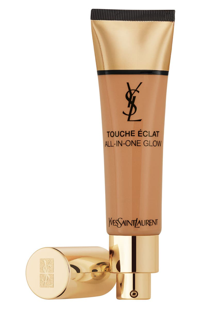 YVES SAINT LAURENT Touche Éclat All-in-One Glow Tinted Moisturizer SPF 23, Main, color, B70 MOCHA