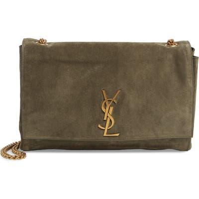 Saint Laurent Kate Reversible Leather Shoulder Bag -