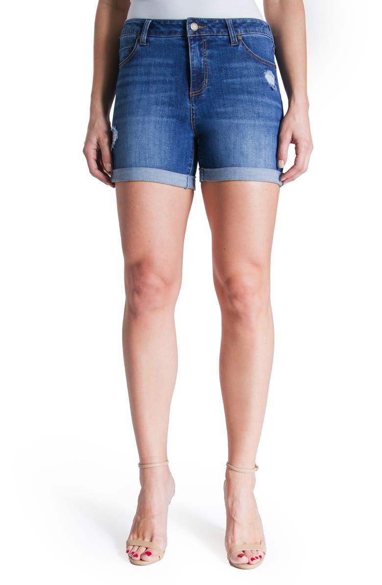 LIVERPOOL Jeans Company 'Vickie' Denim Shorts, Main, color, MONTAUK W