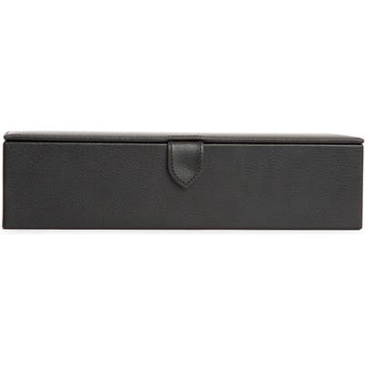 Wolf Blake Leather Watch Box - Black