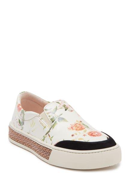 Image of Fiorelli Vita Floral Slip-On Platform Sneaker