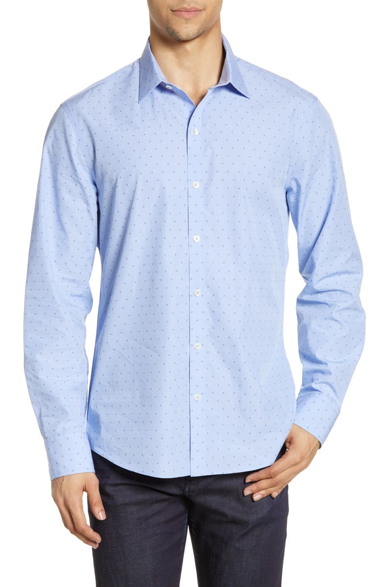 ZACHARY PRELL Cabrera Regular Fit Shirt, Main, color, 450