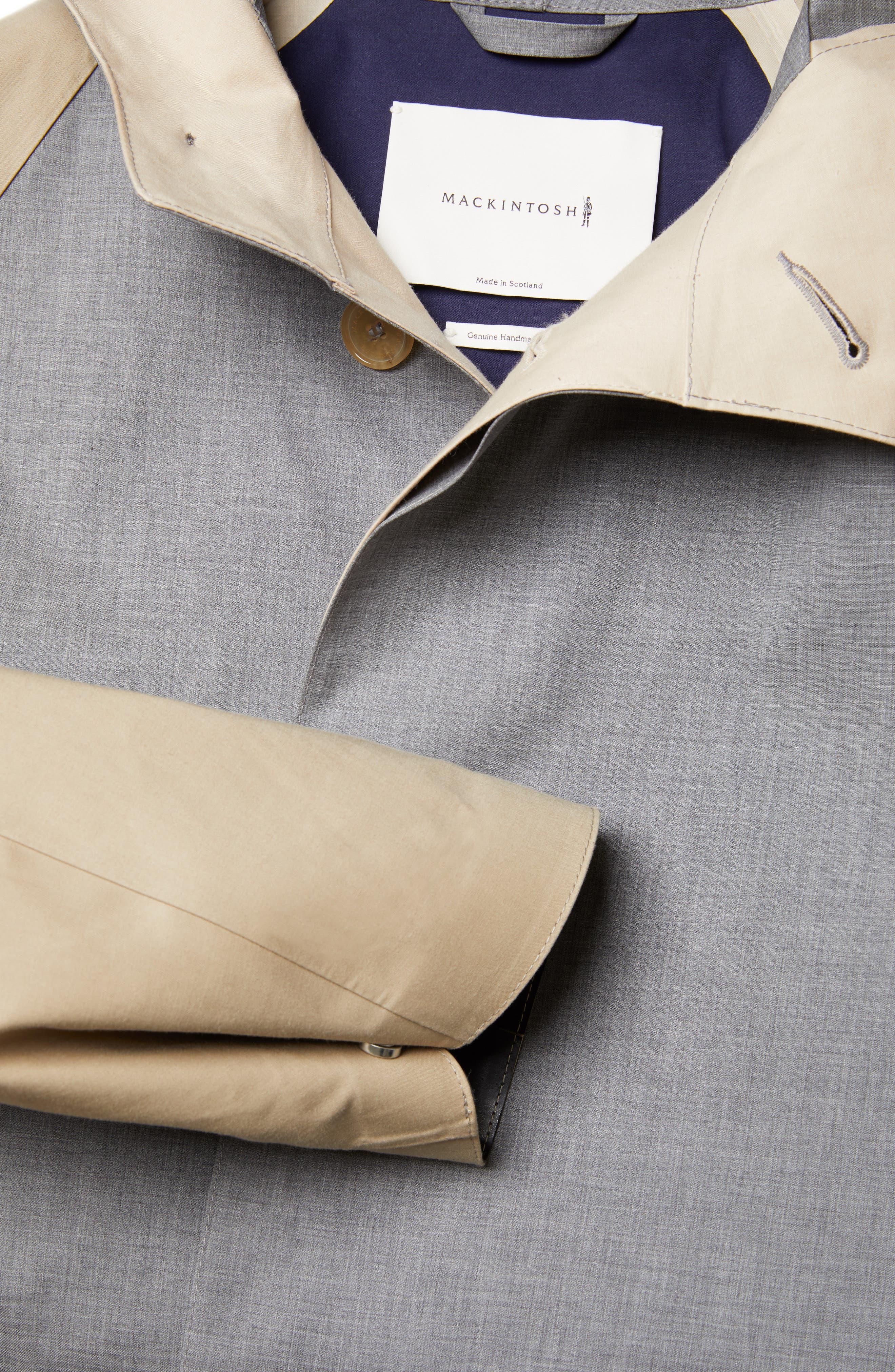 ,                             Bonded Cotton Hooded Jacket,                             Alternate thumbnail 5, color,                             LIGHT TOP GREY/ INK