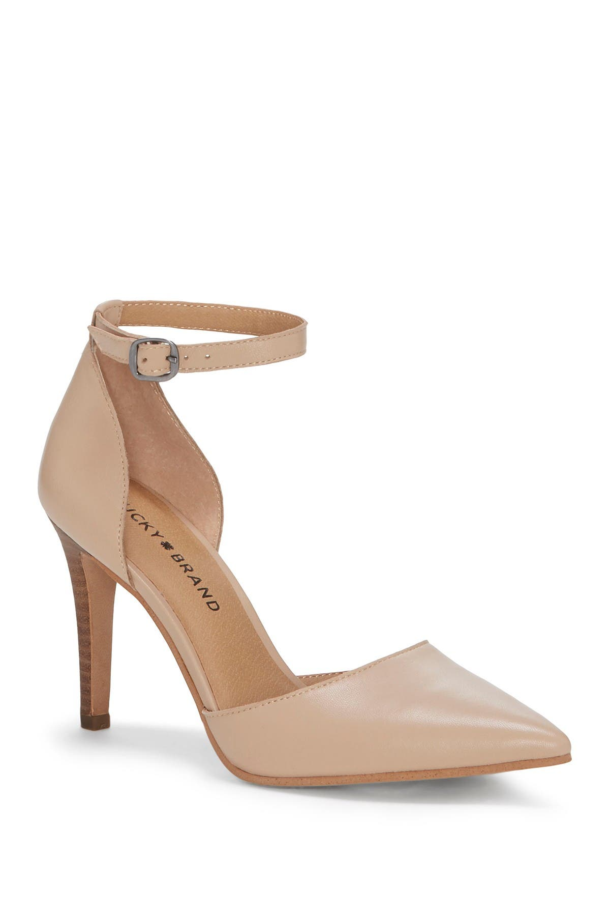 Image of Lucky Brand Tukko d'Orsay Ankle Strap Pump