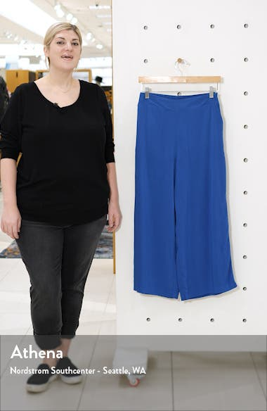 Gibson x International Women's Day The Mom In Style Wide Leg Crop Pants, sales video thumbnail