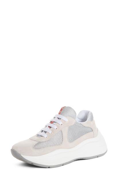 Prada Sneakers LACE-UP TRAINER SNEAKER