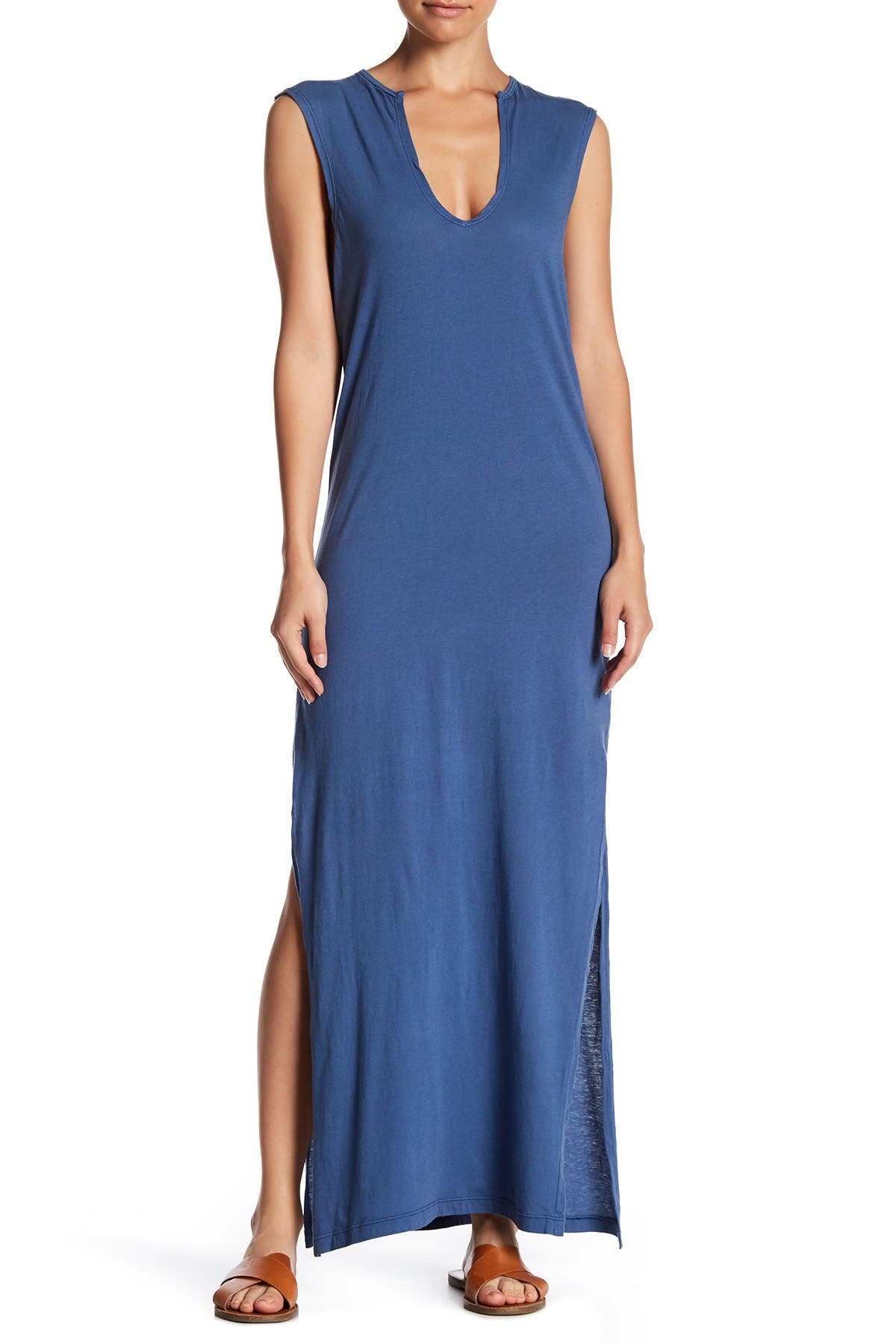 Image of C & C California Dawna Sleeveless Maxi Dress