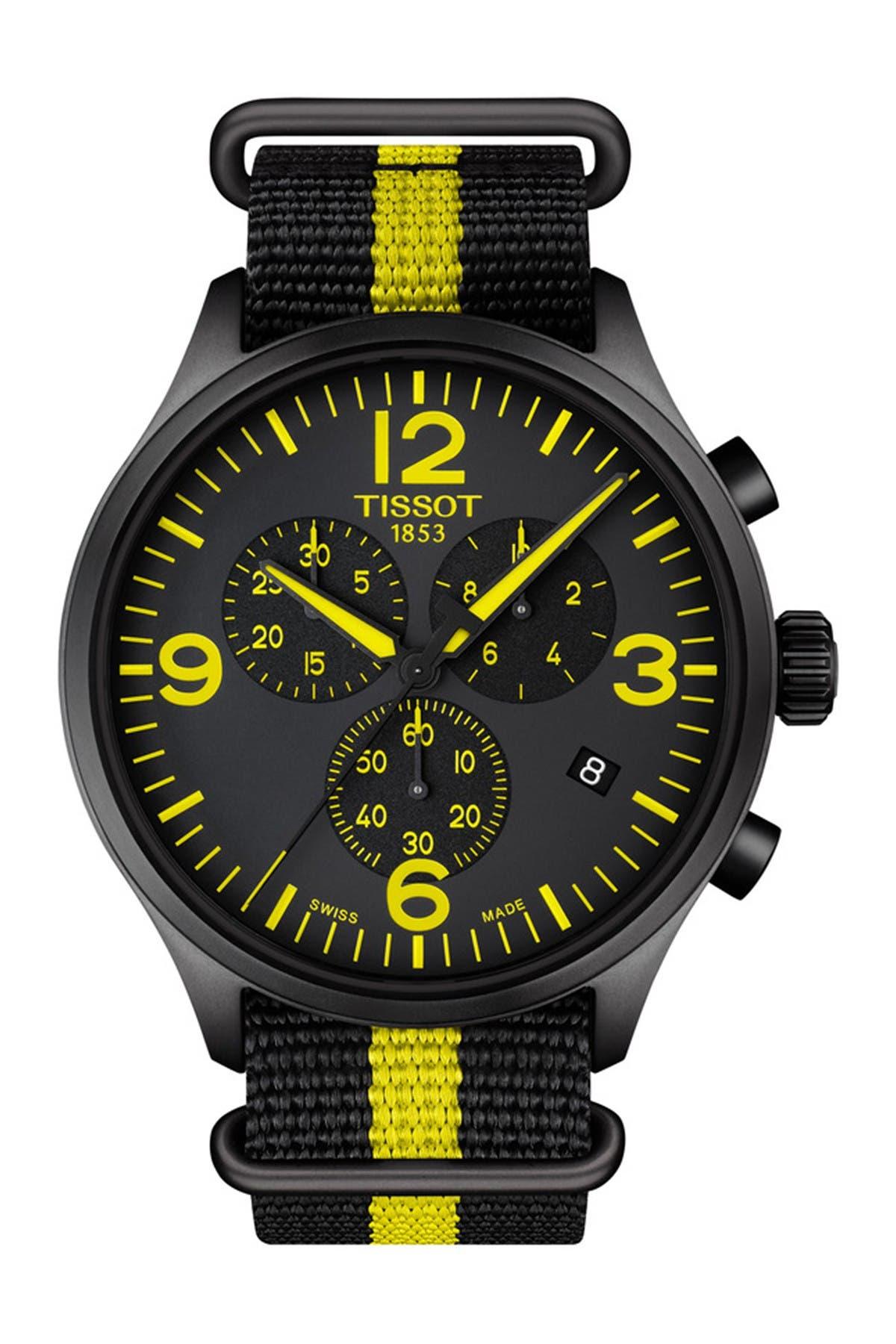 Image of Tissot Men's Chrono XL Tour de France Collection Watch, 45mm