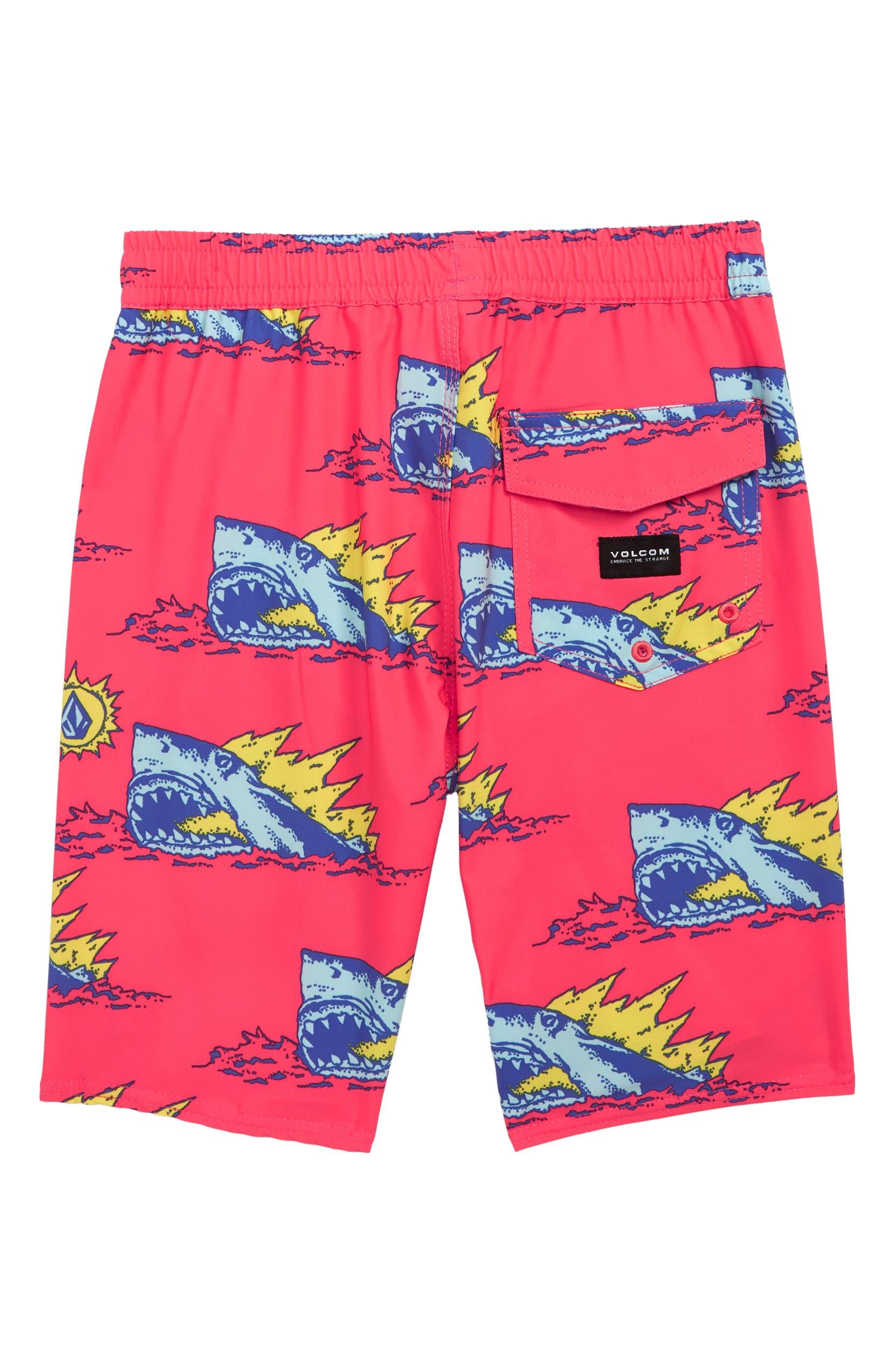 dd6f074445 Volcom Duhh Dunt Swim Trunks (Toddler Boys & Little Boys)   Nordstrom