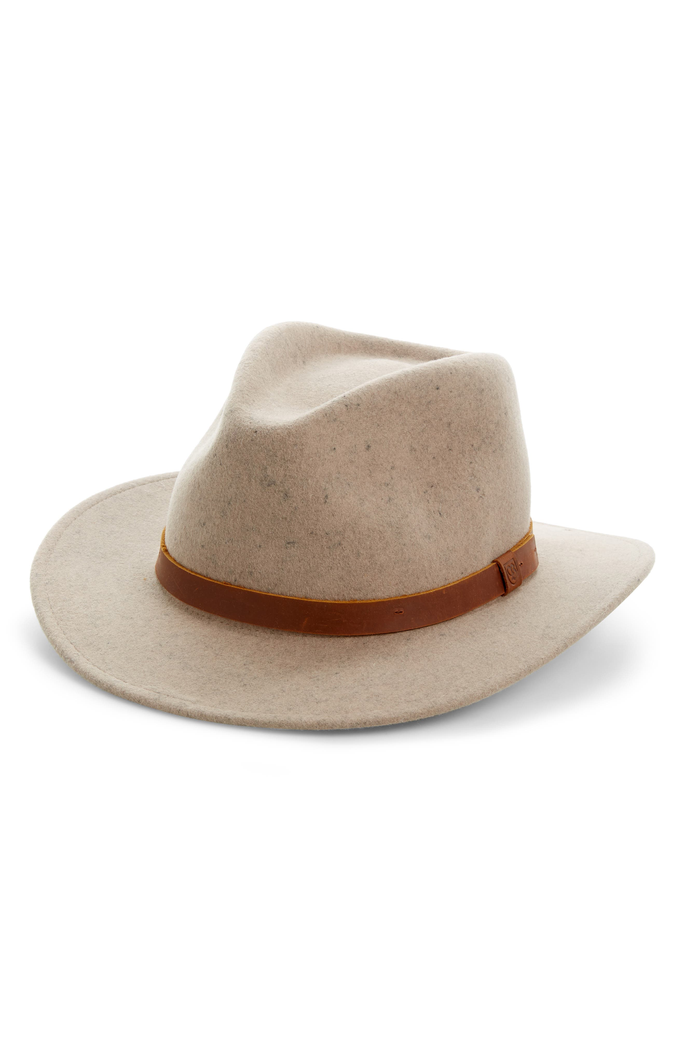 ,                             Messer II Felted Wool Fedora,                             Main thumbnail 6, color,                             250
