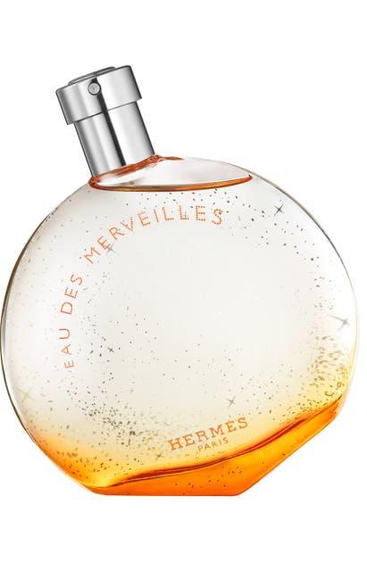 Pre-owned Hermes Eau Des Merveilles, 3.3 oz