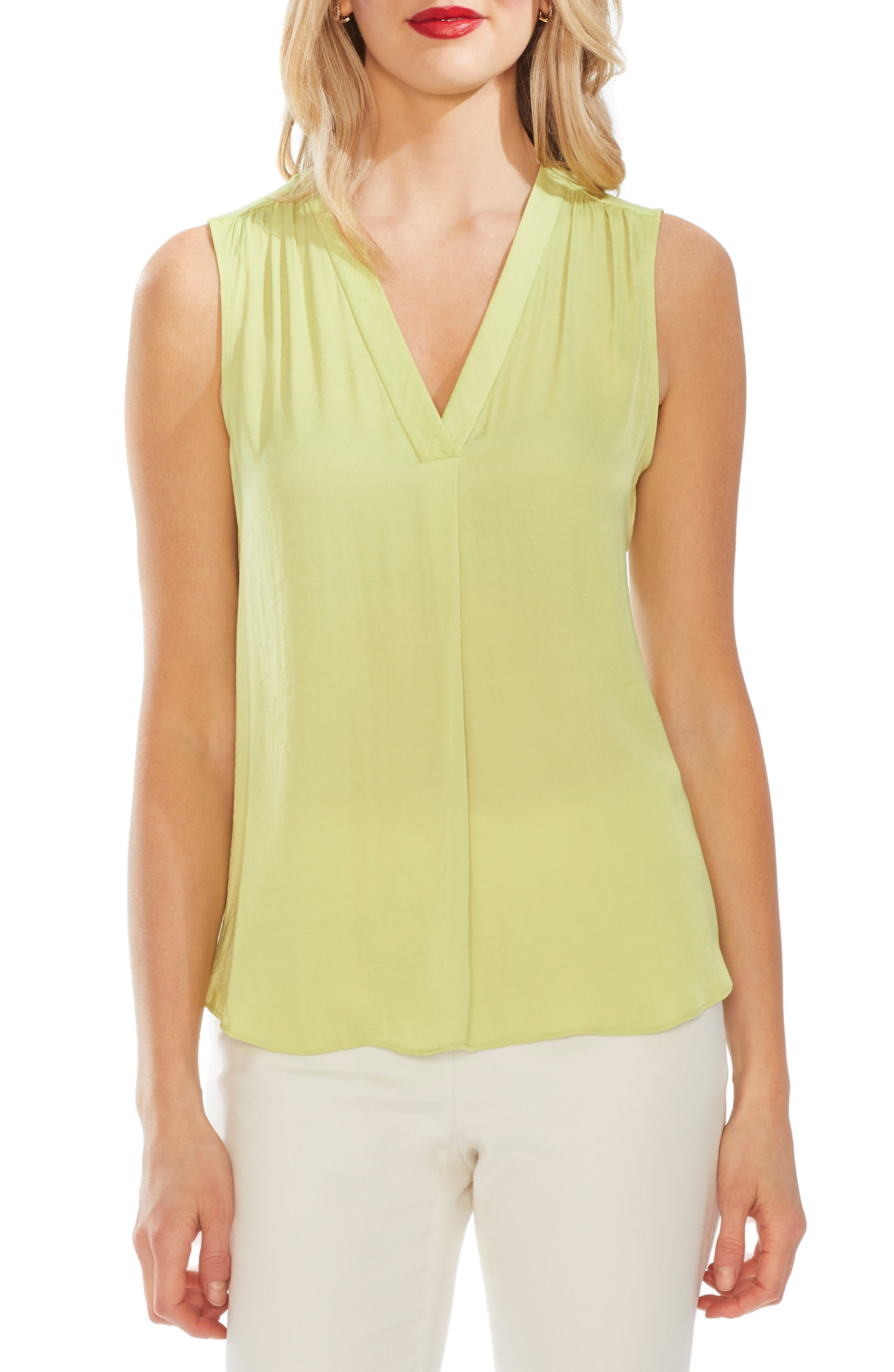 ,                             Rumpled Satin Blouse,                             Main thumbnail 14, color,                             388