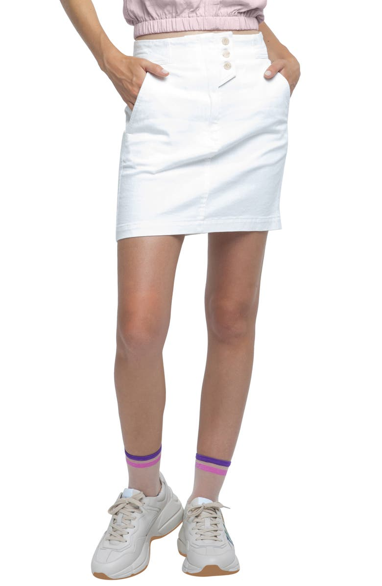ASTR THE LABEL Wallace Miniskirt, Main, color, 100