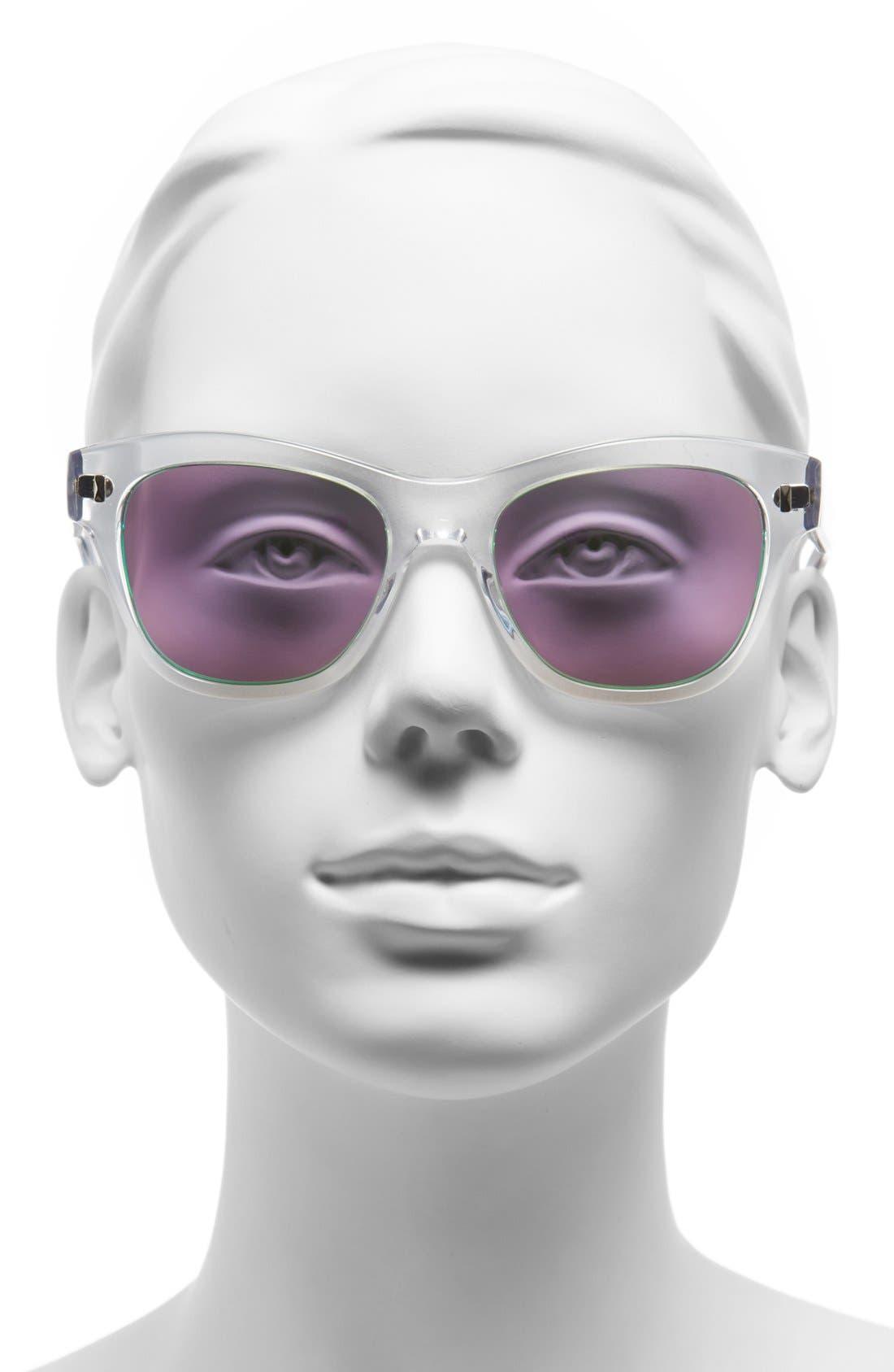 ,                             'Sofee' 53mm Retro Sunglasses,                             Alternate thumbnail 9, color,                             960