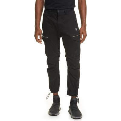 Marcelo Burlon Cross Cargo Pants, Black