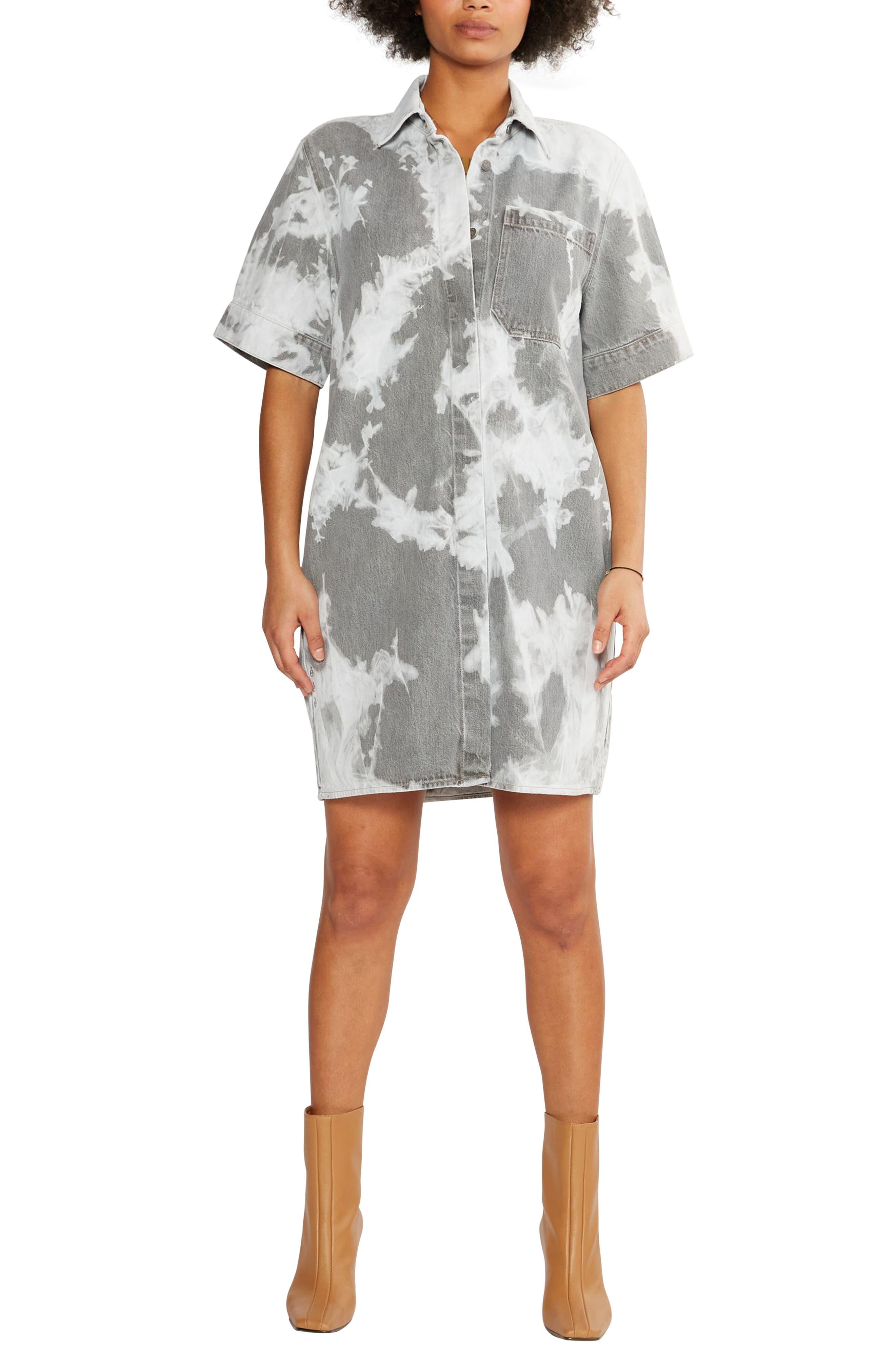 Women's Etica Pia Denim Shift Shirtdress