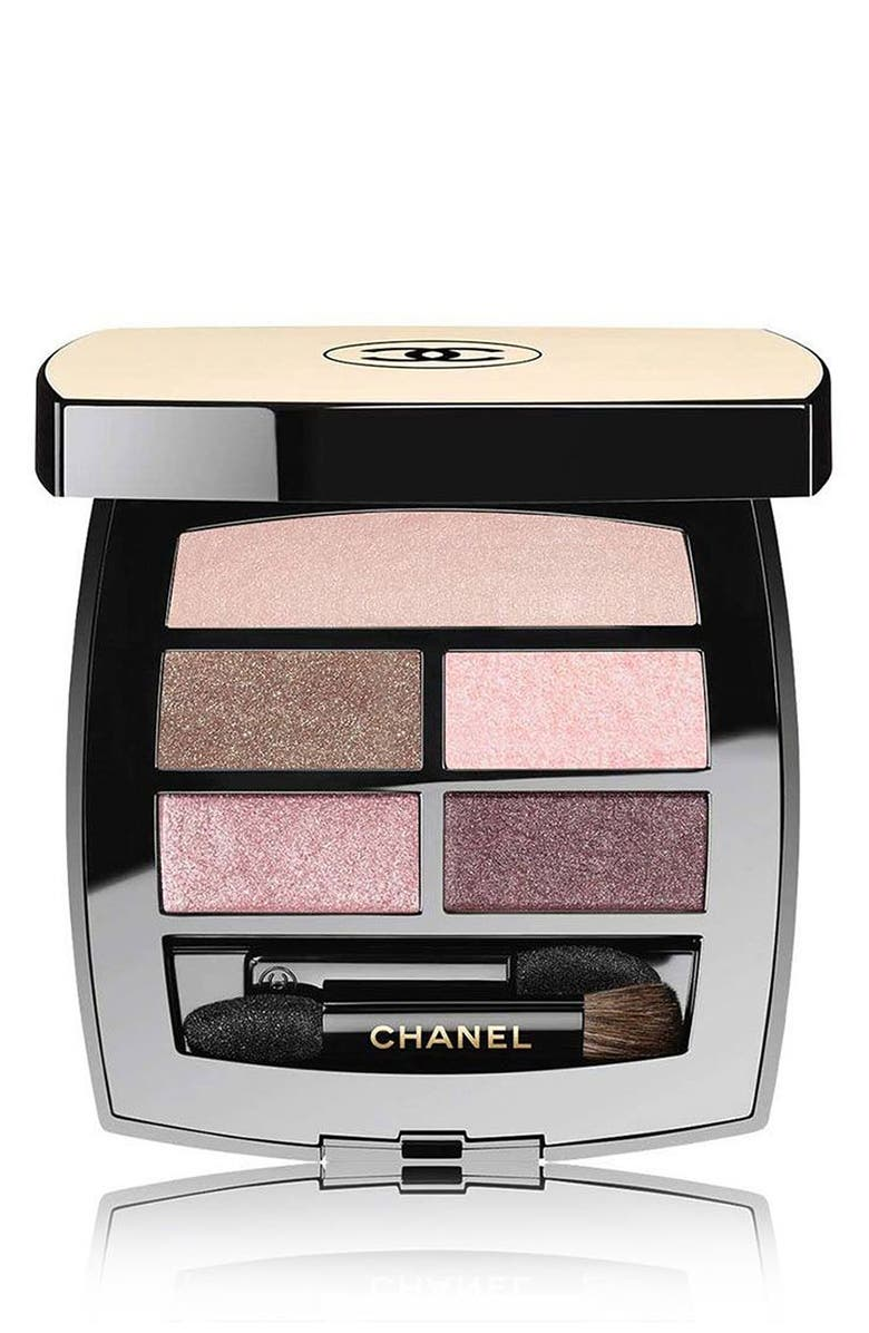 CHANEL LES BEIGES HEALTHY GLOW Natural Eyeshadow Palette, Main, color, LIGHT