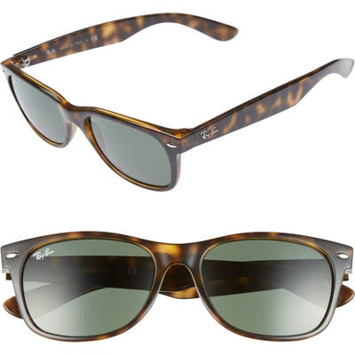 Ray-Ban Standard New Wayfarer 55Mm Sunglasses - Dark Tortoise